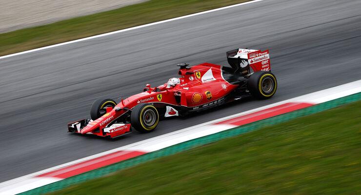Sebastian Vettel - Ferrari - GP Österreich