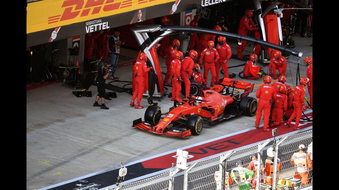 Sebastian Vettel - Ferrari - GP Russland 2019 - Sochi Autodrom - Rennen