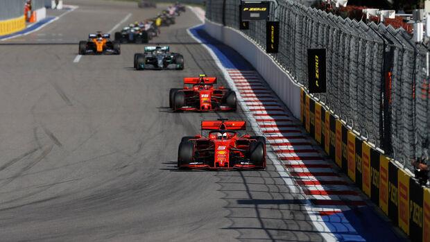 Sebastian Vettel - Ferrari - GP Russland 2019 - Sotschi