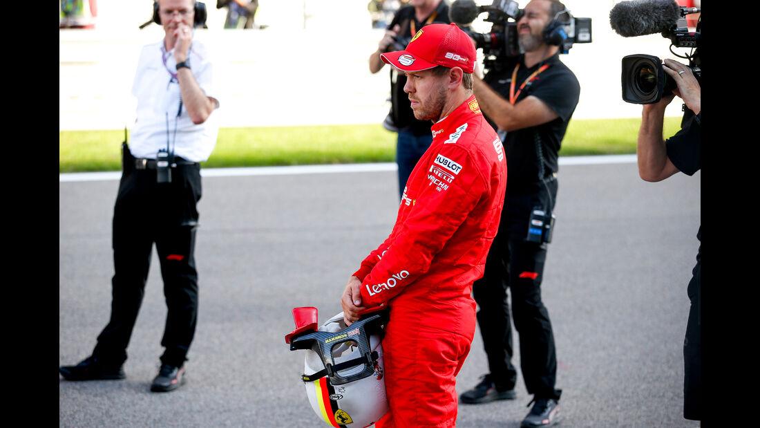 Sebastian Vettel - Ferrari - GP Russland 2019 - Sotschi - Qualifying