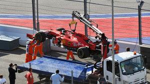 Sebastian Vettel - Ferrari - GP Russland 2019 - Sotschi - Rennen