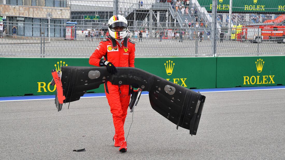 Sebastian Vettel - Ferrari - GP Russland 2020 - Sotschi