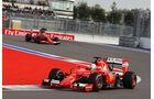 Sebastian Vettel - Ferrari - GP Russland - Qualifying - Samstag - 10.10.2015