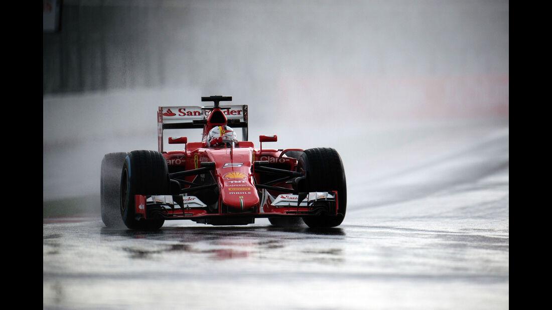 Sebastian Vettel - Ferrari - GP Russland - Sochi - Freitag - 9.10.2015