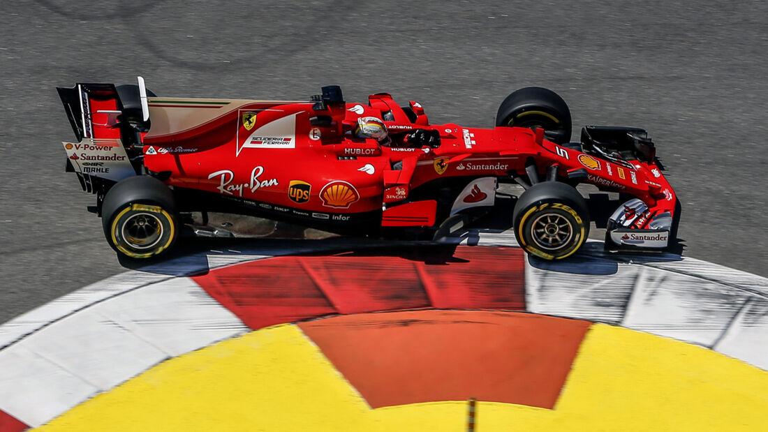 Sebastian Vettel - Ferrari - GP Russland - Sotschi  - Formel 1 - 28. April 2017