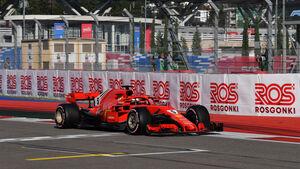 Sebastian Vettel - Ferrari - GP Russland - Sotschi - Formel 1 - Samstag - 29.9.2018