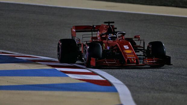 Sebastian Vettel - Ferrari - GP Sakhir 2020 - Bahrain