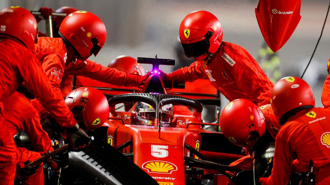 Sebastian Vettel - Ferrari - GP Sakhir 2020 - Bahrain - Rennen
