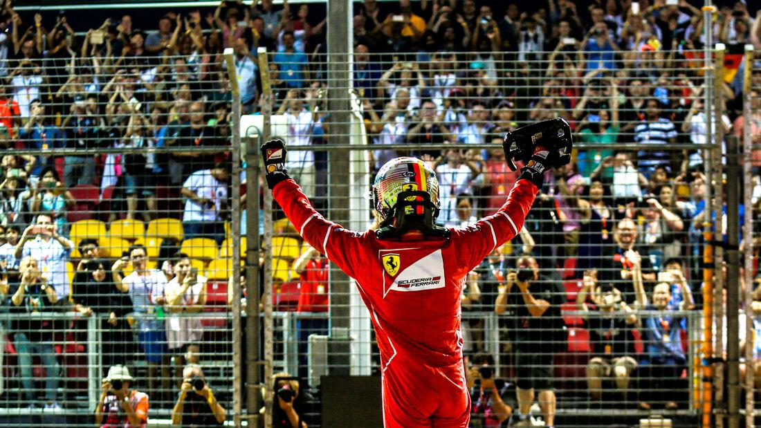 Sebastian Vettel - Ferrari - GP Singapur 2017 - Qualifying