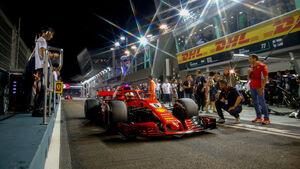 Sebastian Vettel - Ferrari - GP Singapur 2018