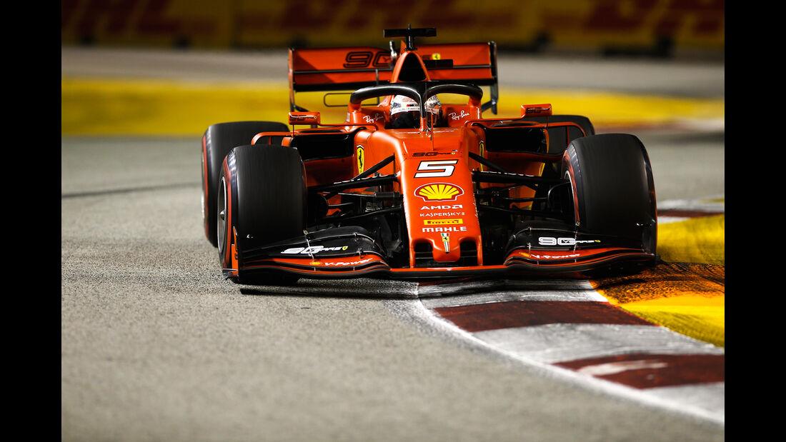 Sebastian Vettel - Ferrari - GP Singapur 2019 - Qualifying