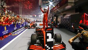 Sebastian Vettel - Ferrari - GP Singapur 2019 - Rennen