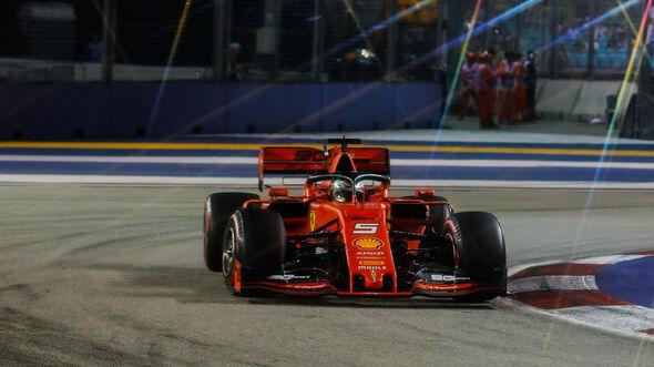 Sebastian Vettel - Ferrari - GP Singapur 2019
