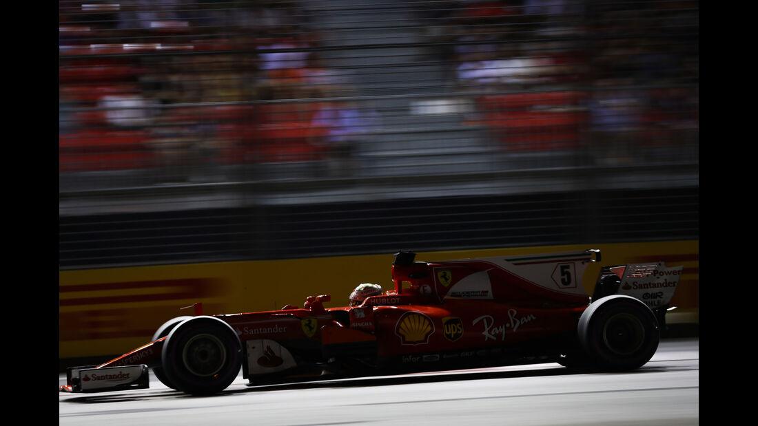 Sebastian Vettel - Ferrari - GP Singapur - Qualifying