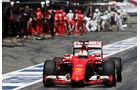 Sebastian Vettel - Ferrari - GP Spanien 2015 - Rennen - Sonntag - 10.5.2015