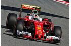 Sebastian Vettel - Ferrari - GP Spanien 2016 - Barcelona - F1 - Freitag - 13.5.2016