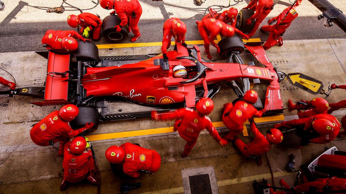 Sebastian Vettel - Ferrari - GP Spanien 2020 - Barcelona