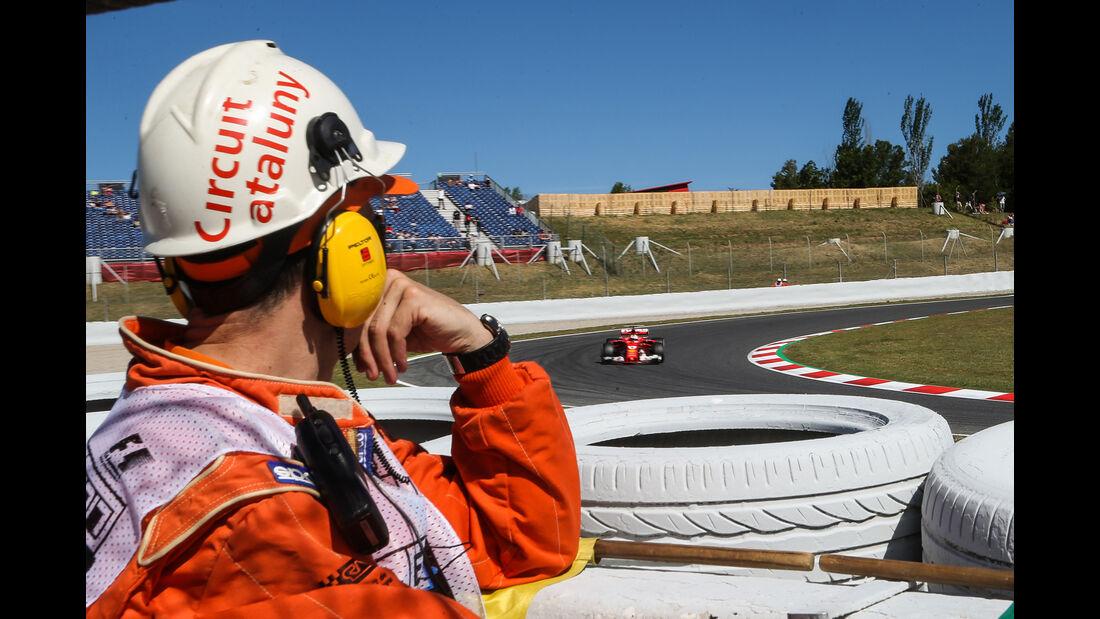 Sebastian Vettel - Ferrari - GP Spanien - Barcelona - 12. Mai 2017