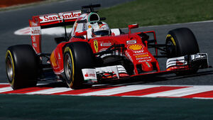 Sebastian Vettel - Ferrari - GP Spanien - Barcelona - Freitag - 13.5.2016
