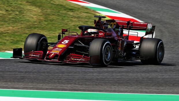 Sebastian Vettel - Ferrari - GP Toskana 2020