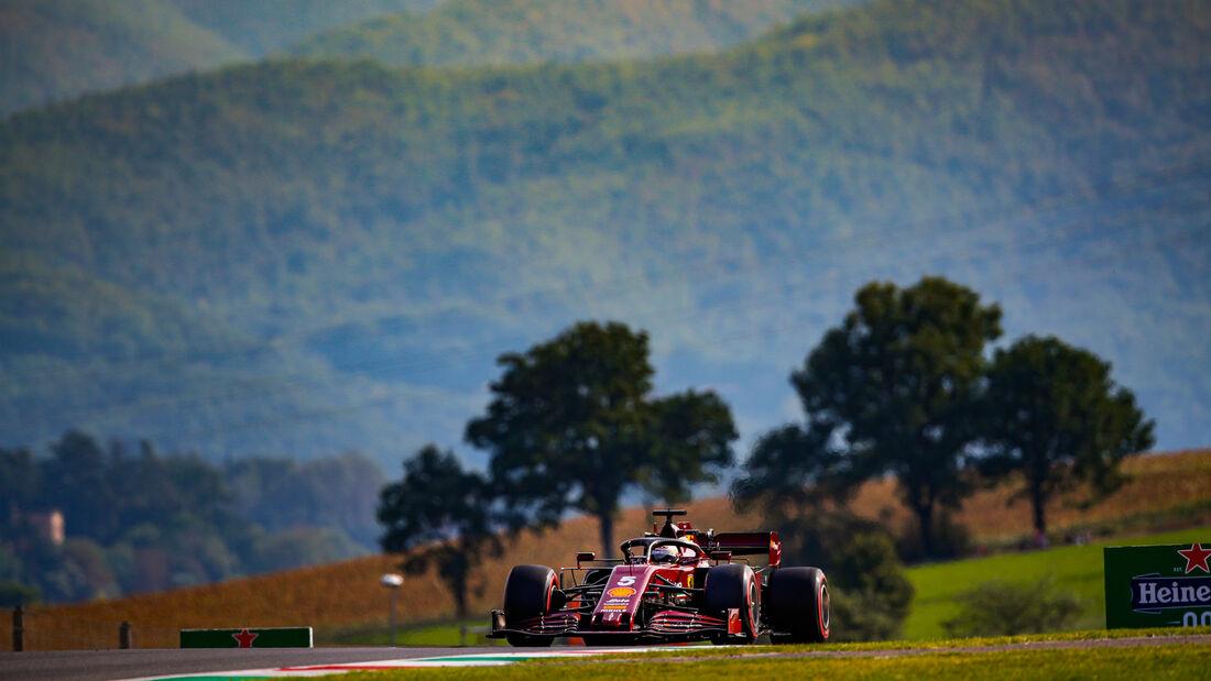 Sebastian Vettel - Ferrari - GP Toskana 2020 - Mugello