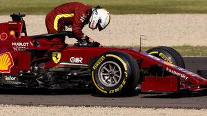 Sebastian Vettel - Ferrari - GP Toskana - Mugello - Formel 1 - 11. September 2020