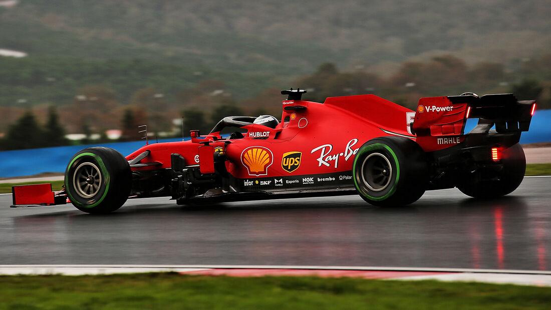 Sebastian Vettel - Ferrari - GP Türkei 2020 - Istanbul - Qualifying