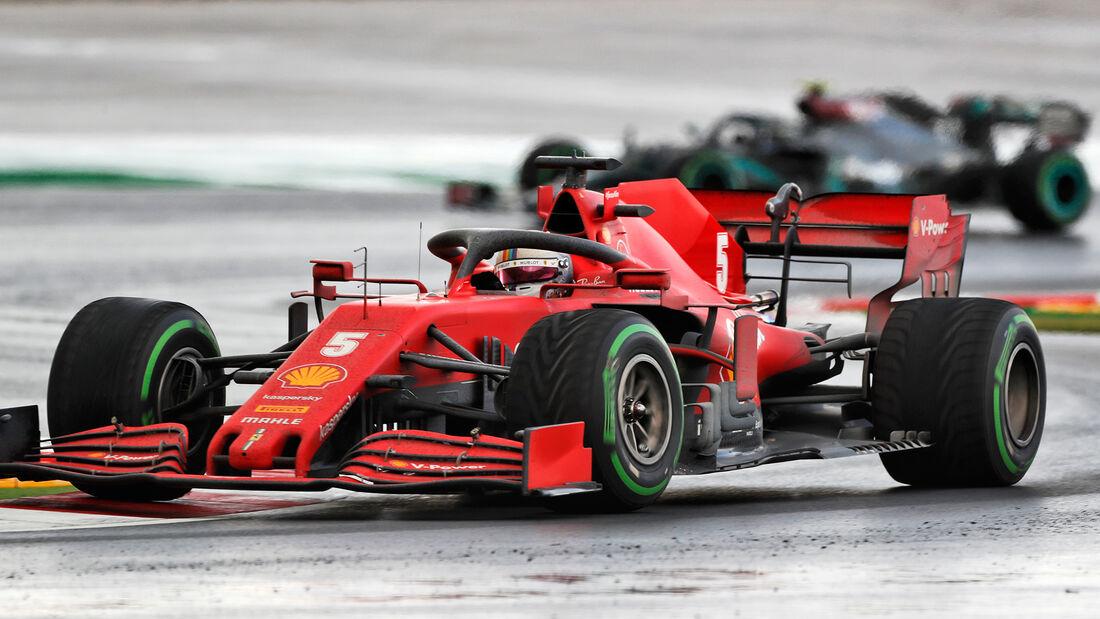 Sebastian Vettel - Ferrari - GP Türkei 2020 - Istanbul - Rennen