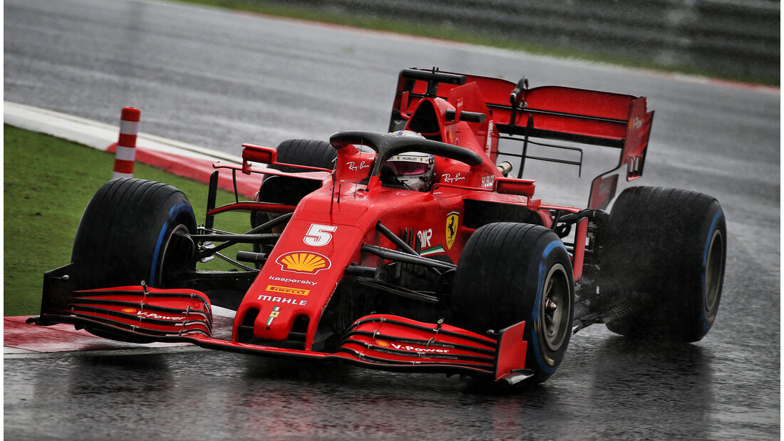 Sebastian Vettel - Ferrari - GP Türkei 2020 - Istanbul - Samstag
