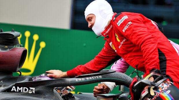 Sebastian Vettel - Ferrari - GP Türkei 2020 - Rennen