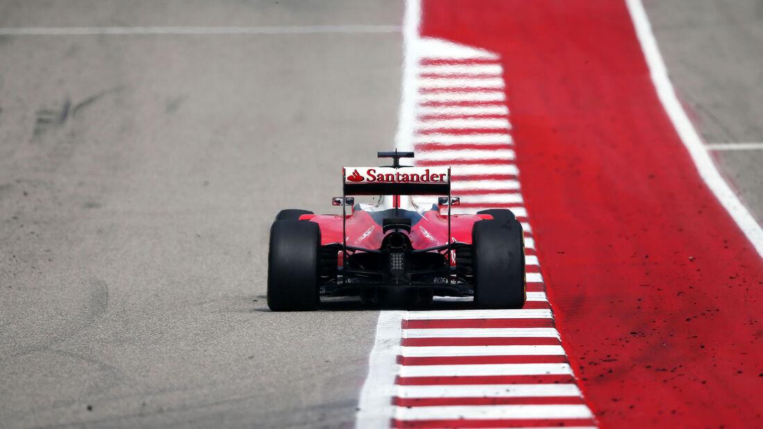 Sebastian Vettel - Ferrari - GP USA 2016
