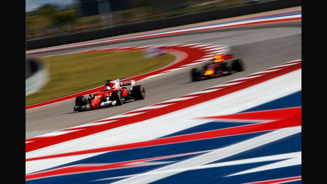 Sebastian Vettel - Ferrari - GP USA 2017 - Austin