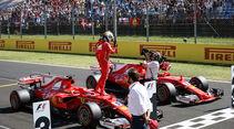 Sebastian Vettel - Ferrari - GP Ungarn 2017 - Budapest - Qualifying