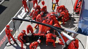 Sebastian Vettel - Ferrari - GP Ungarn 2018 - Rennen