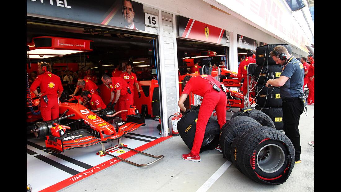Sebastian Vettel - Ferrari - GP Ungarn 2019 - Budapest - Qualifying