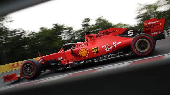 Sebastian Vettel - Ferrari - GP Ungarn 2019 - Budapest