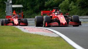 Sebastian Vettel - Ferrari - GP Ungarn 2020 - Budapest