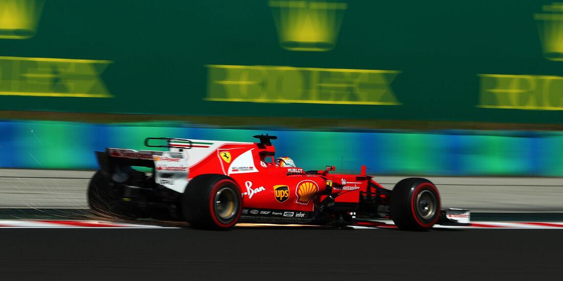 Sebastian Vettel - Ferrari - GP Ungarn - Budapest - Formel 1 - 28.7.2017