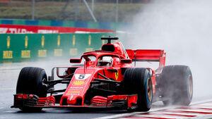 Sebastian Vettel - Ferrari - GP Ungarn - Budapest - Qualifying