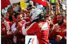 Sebastian Vettel - Ferrari - GP Ungarn - Budapest - Rennen - Sonntag - 26.7.2015