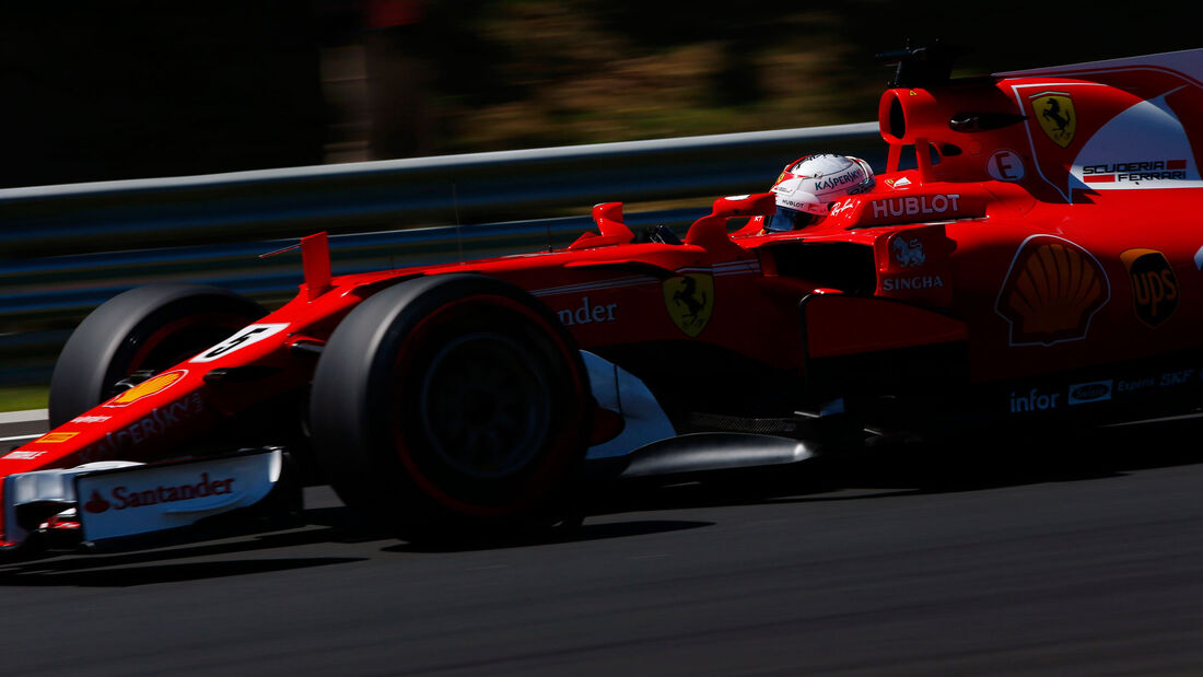 Sebastian Vettel - Ferrari - GP Ungarn - Budapest - Samstag - 29.7.2017