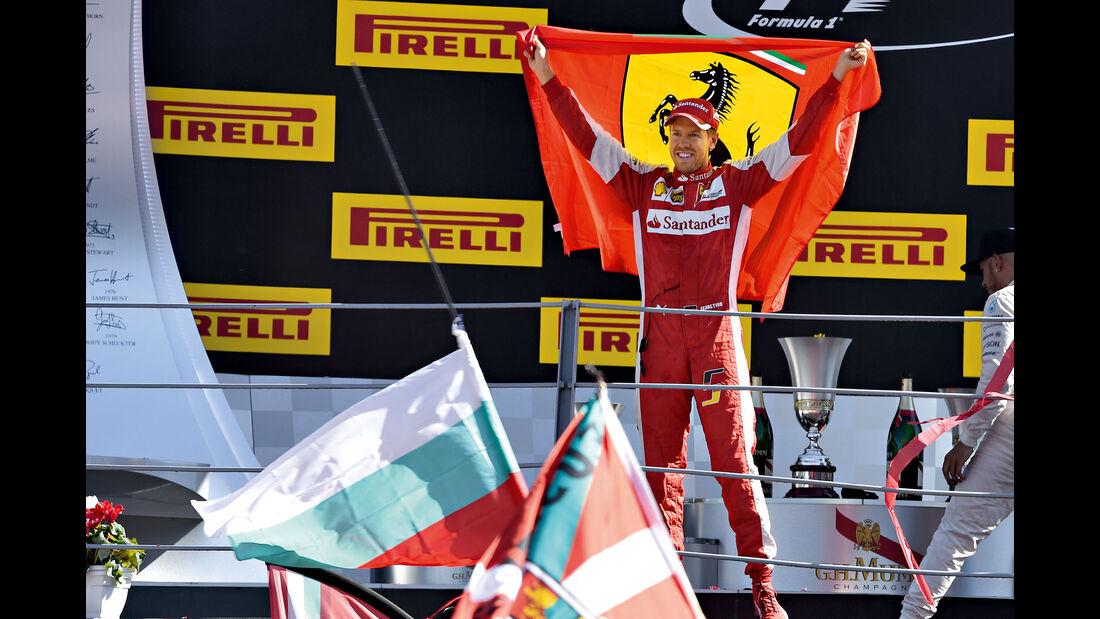 Sebastian Vettel - Ferrari - Monza - GP Italien