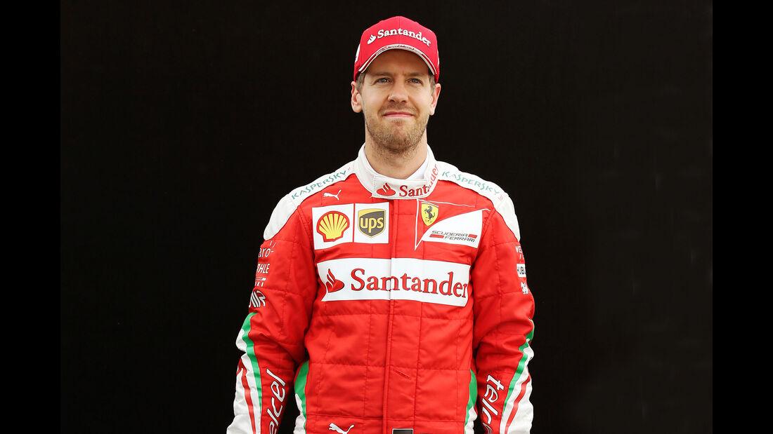 Sebastian Vettel - Ferrari - Porträt - Formel 1 - 2016