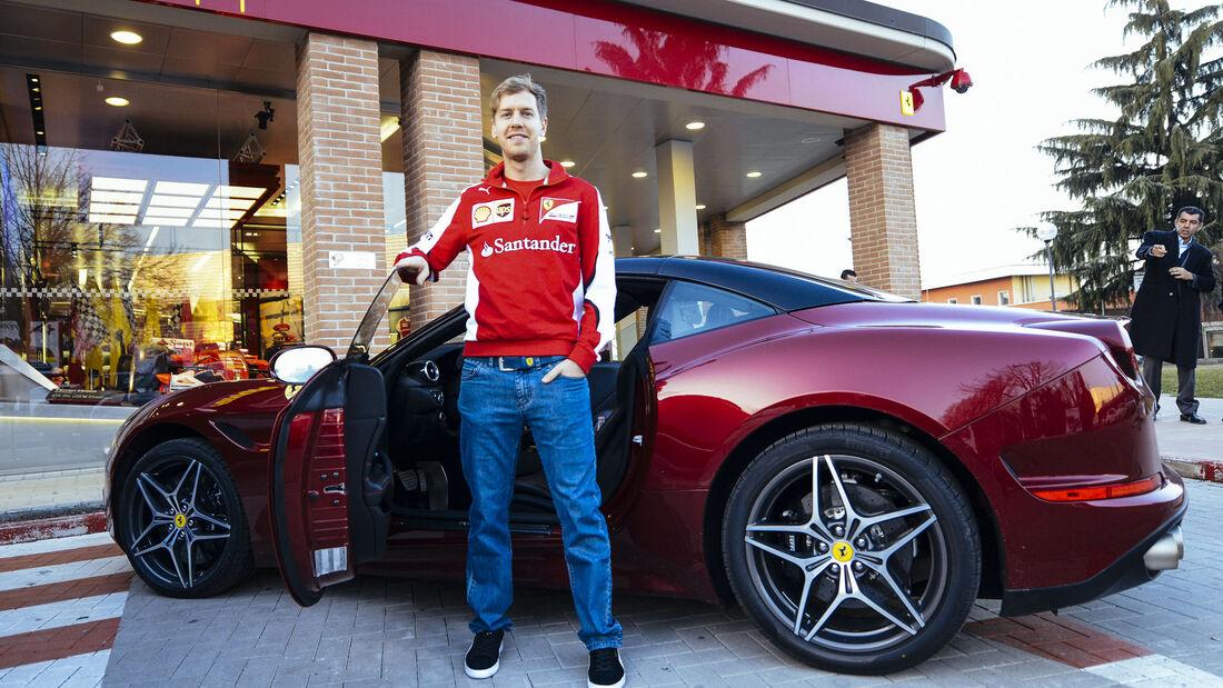 Sebastian Vettel Auto Privat