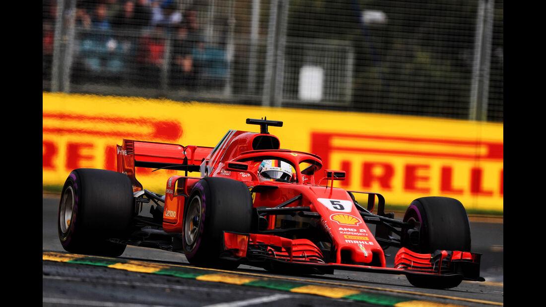 Sebastian Vettel - Ferrari - Qualifying - GP Australien 2018 - Melbourne