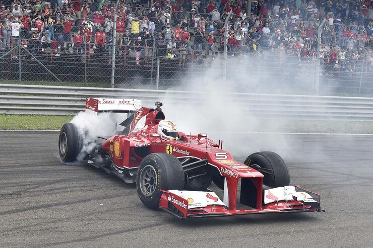 Sebastian Vettel - Ferrari Racing Days - Budapest 2015