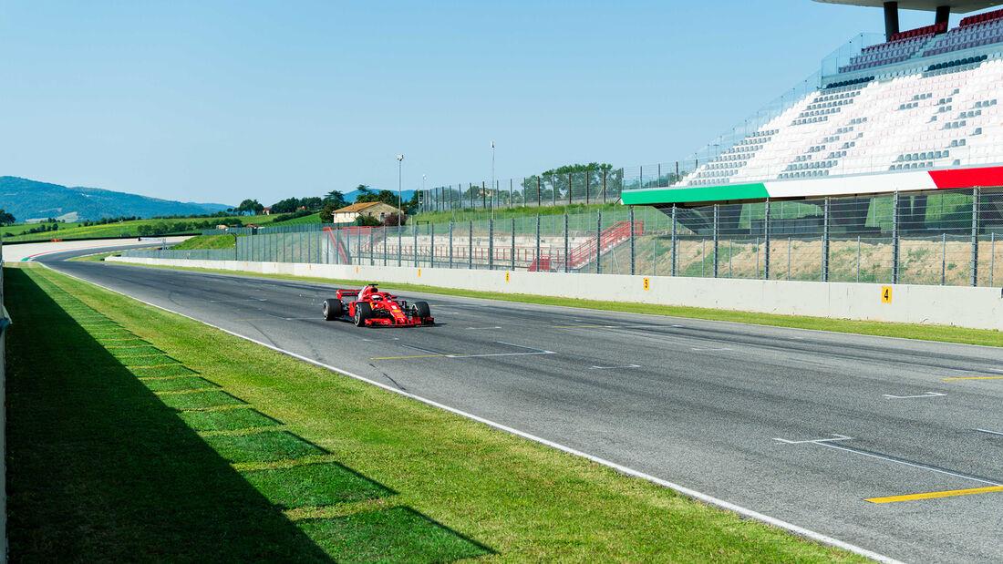Sebastian Vettel - Ferrari - Test - Mugello - 2020