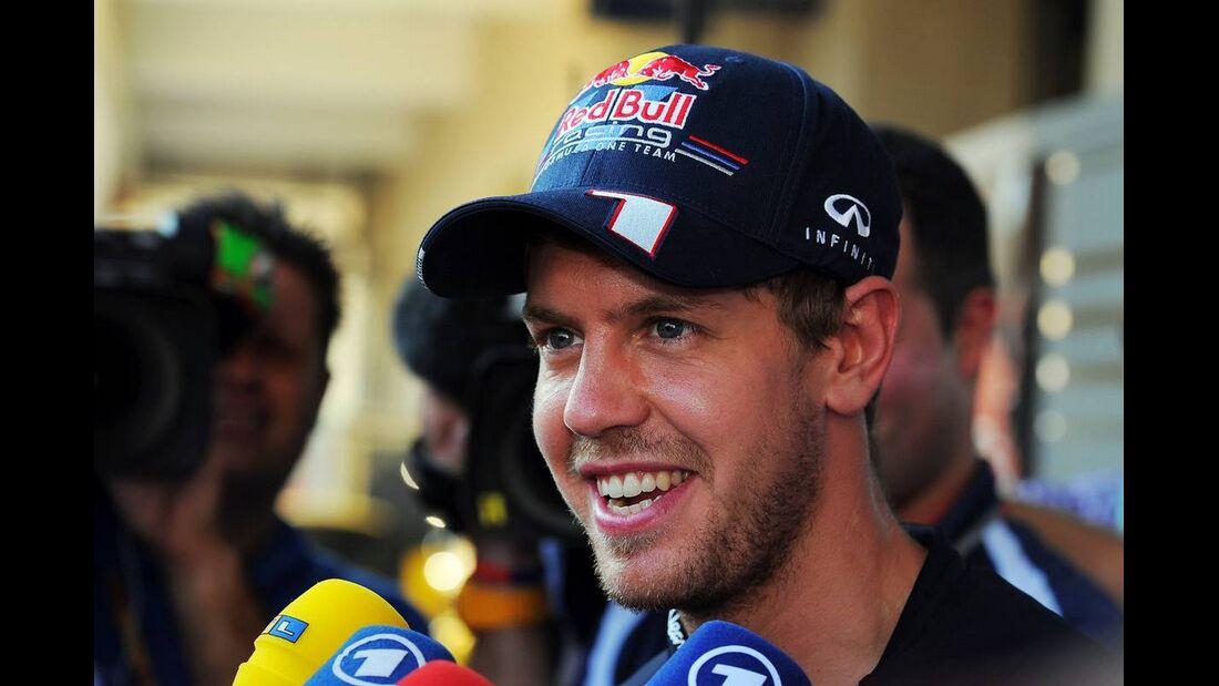 Sebastian Vettel - Formel 1 - GP Abu Dhabi - 01. November 2012