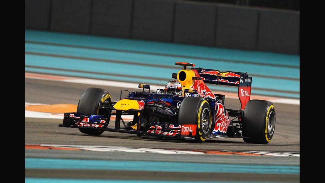 Sebastian Vettel - Formel 1 - GP Abu Dhabi - 02. November 2012