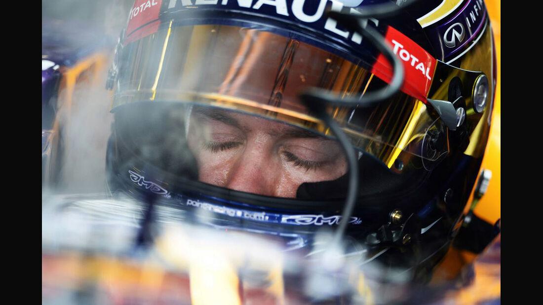 Sebastian Vettel - Formel 1 - GP Abu Dhabi - 02. November 2013
